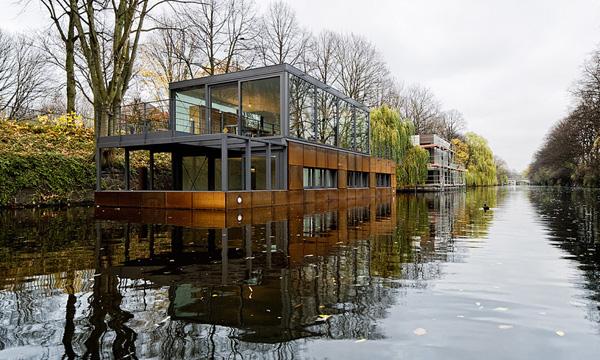新船屋建築運動 德國漢堡Eilbek運河船屋