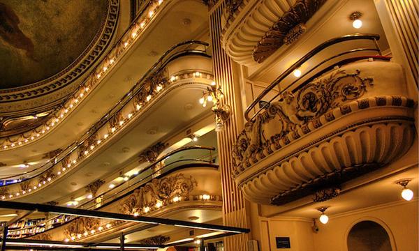 El Ateneo Grand Splendid世界上最華麗的歌劇院式書店 典雅氛圍擄獲人