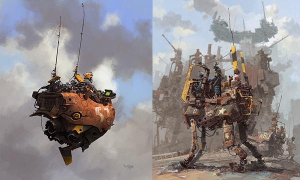 急求 天空之城 科幻画的创意说明 微博生活网