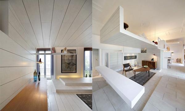 小小閣樓設計多層次陶瓷空間 展現三維新生活態度