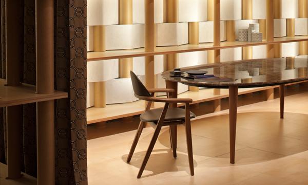 HERMES當代家具 純粹皮革與木
