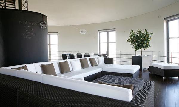 Bham Design比利時舊水塔改造感性新屋