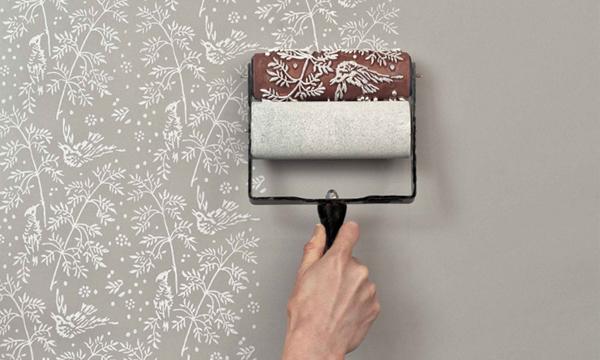 自己的壁紙自己印!The Painted House歐式牆壁印花滾筒 - La Vie行動家 設計改變世界