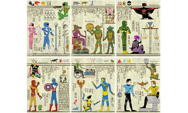 古埃及壁畫出現超級英雄?! 穿越時空的藝術 - La Vie行動家 設計改變世界