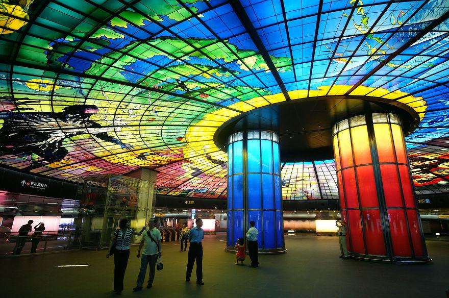 世界各地12座最美麗的地鐵站