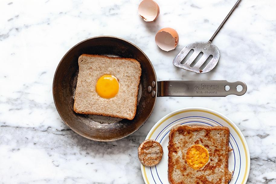 我的紐約客廚房:吐司鑲蛋