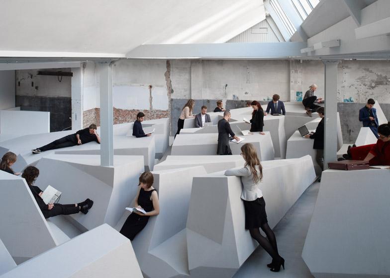 不用坐著上班! RAAAF + Barbara Visser未來概念辦公室 - La Vie行動家 設計改變世界