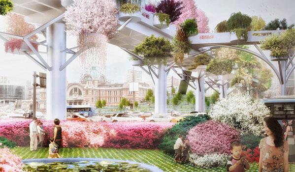 廢棄高架變身浪漫空中花園!「首爾7017」讓你邊漫步邊欣賞城市美景 - La Vie行動家 設計改變世界
