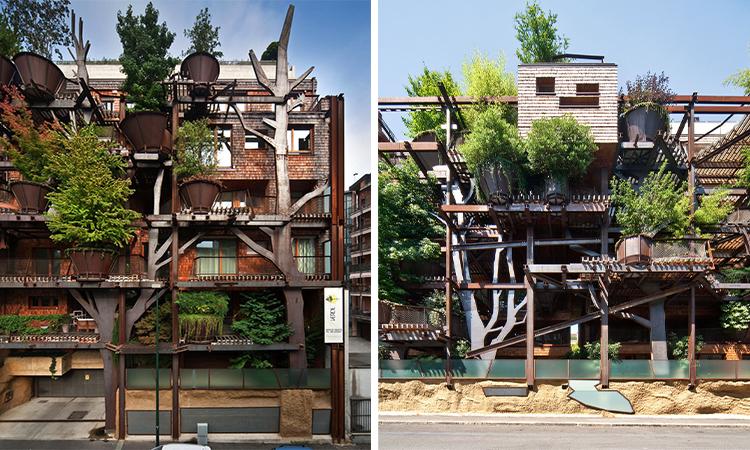 城市的最佳保鑣!25 Verde讓150棵樹保護一棟公寓 - La Vie行動家 設計改變世界