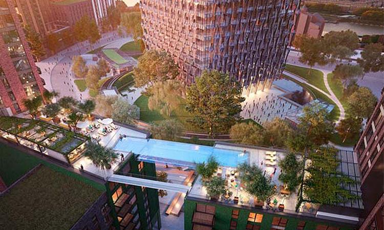 這個泳池你敢跳下去嗎?倫敦豪宅首創真正的空中游泳池! - La Vie行動家 設計改變世界