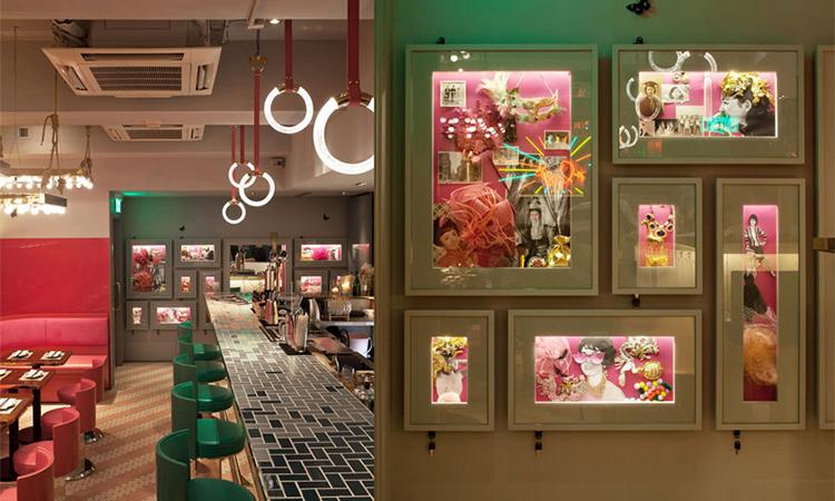 印章店裡的愛情故事-香港明記印鑑店裡的隱藏版復古餐廳Mrs.Pound - La Vie行動家 設計改變世界