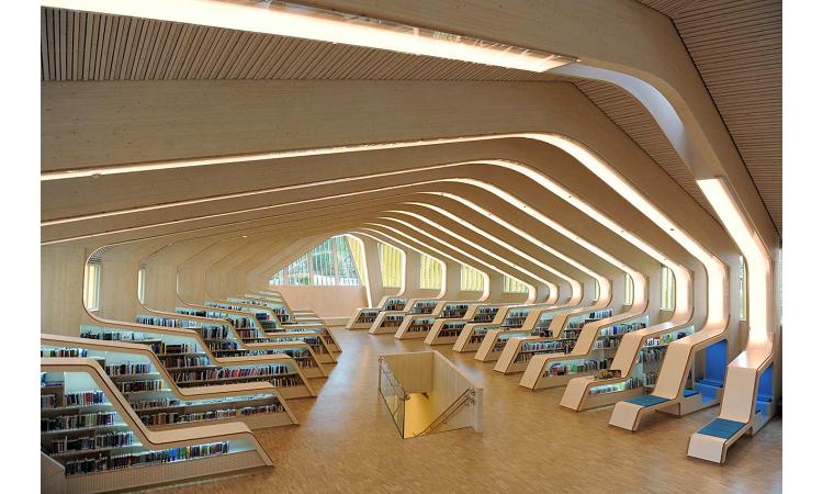 在鯨魚的肋骨裡讀書?融合海洋與城市文化的挪威Vennesla圖書館 - LaVie 設計改變世界