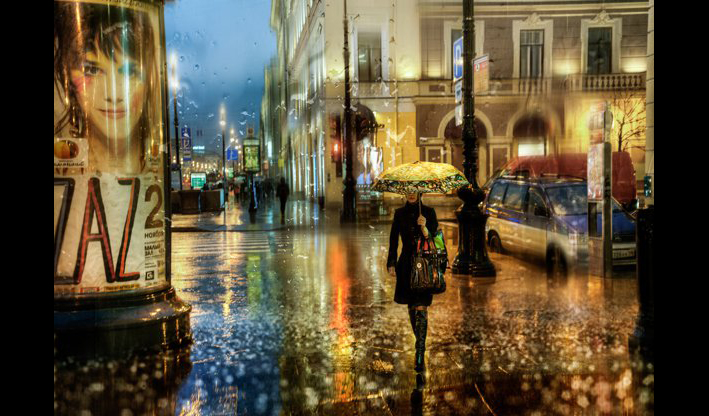漫步在光影絢麗的大雨之中 油畫質感的浪漫雨景攝影集 - LaVie 設計改變世界