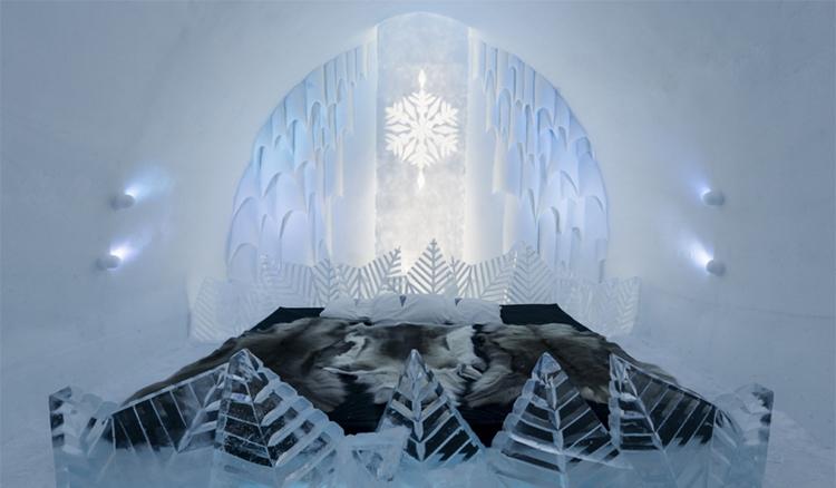 今年冬天一起過冬吧!瑞典Icehotel帶你體驗最迷幻的冰天雪地