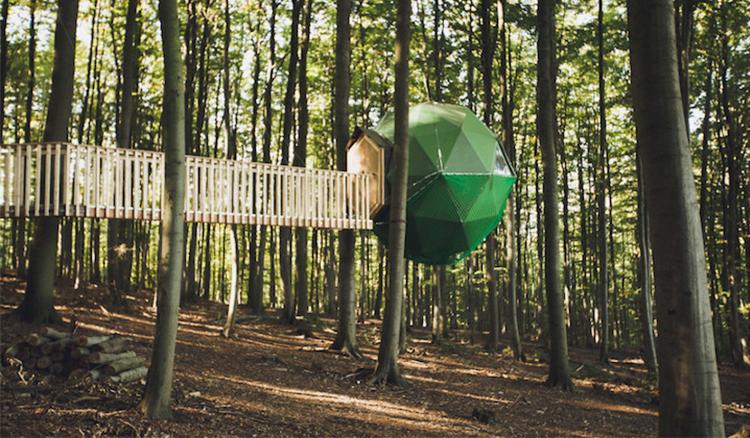 每一間房都獨一無二!德國樹屋酒店邀你享受一個專屬於你的祕密基地