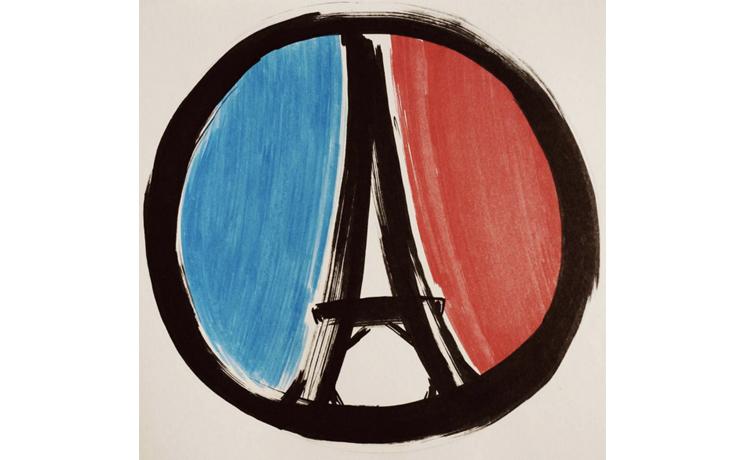 以設計為巴黎祈福!這些Instagram創意圖片安慰了每個人的心