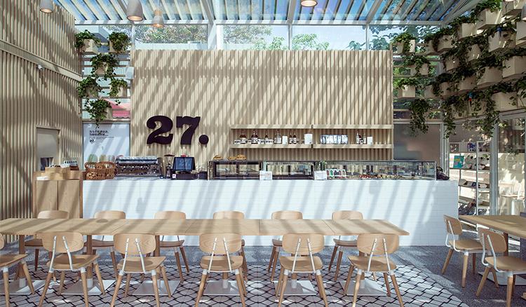 玻璃溫室=綠色咖啡館 讓你用一杯咖啡的時間呼吸最美好的空氣