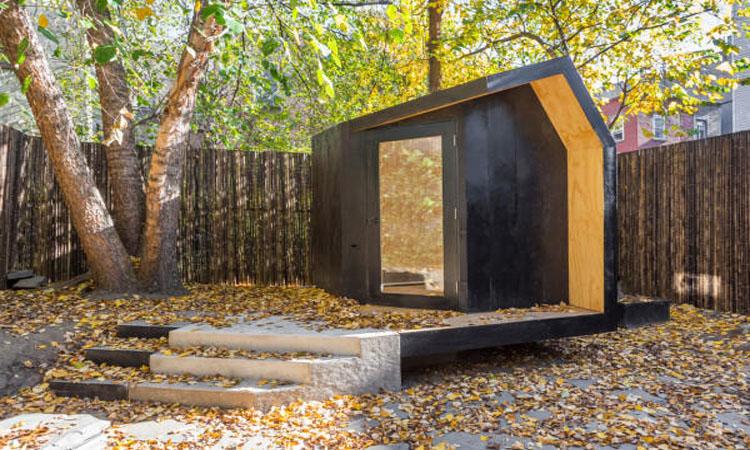 「我想一個人靜一靜」,暫時與世隔絕的個人小木屋
