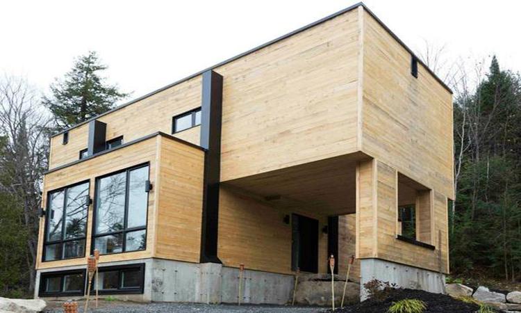鐵皮貨櫃變成豪華小別墅,加拿大建築師打造夢幻mansion container