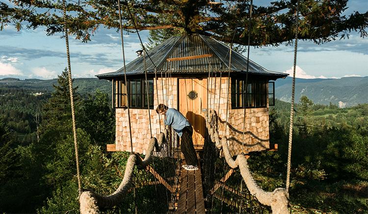 【影片】避世到空中!27歲年輕人捨棄百萬年薪蓋樹屋! - La Vie行動家 設計改變世界