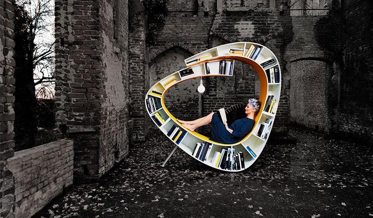 好設計好生活!Bookworm讓我們當一隻最舒適的書蟲!