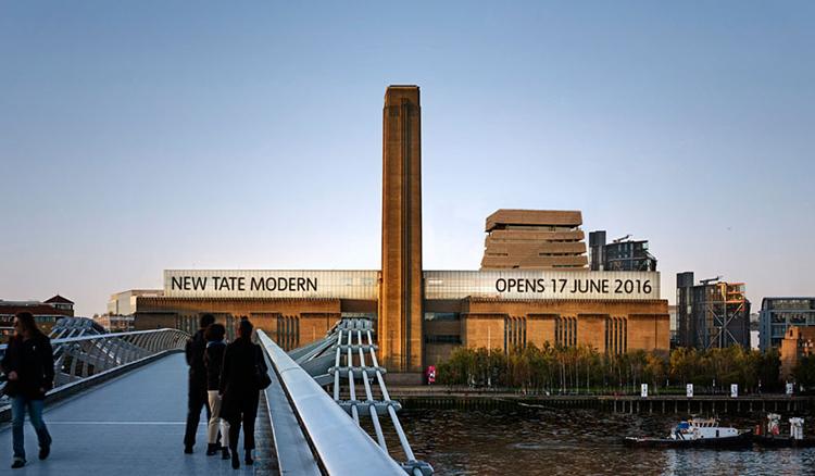倫敦驚現金字塔?!120億的Tate Modern新館即將開幕! - La Vie行動家 設計改變世界