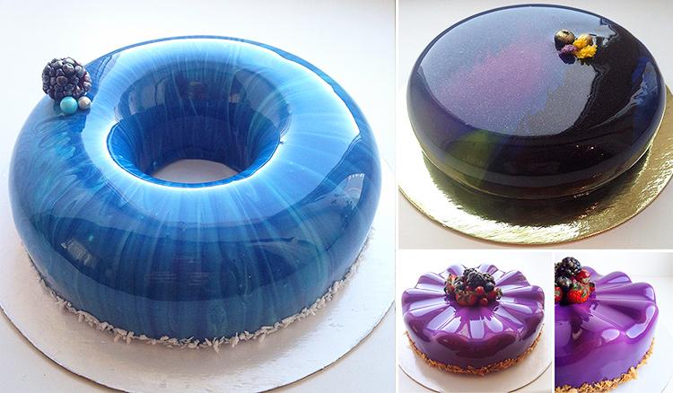 鏡面般的……蛋糕?!你捨得切開他嗎?