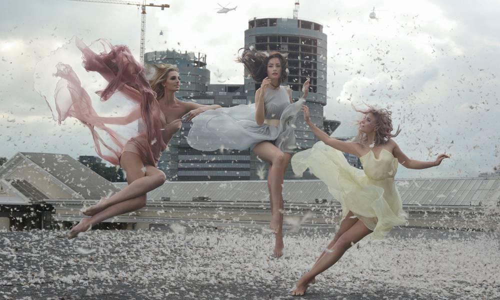如夢想中的仙女般輕盈!烏茲別克攝影師打造唯美「漂浮」攝影