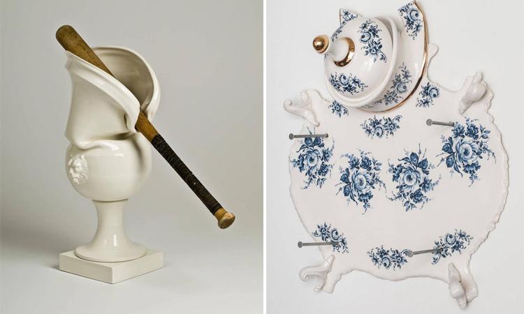 什麼是破壞藝術?Laurent Craste的趣味瓷器讓你秒懂!