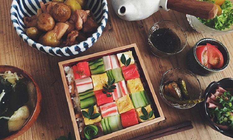 日本最新流行「馬賽克壽司」美到讓人食慾大增!