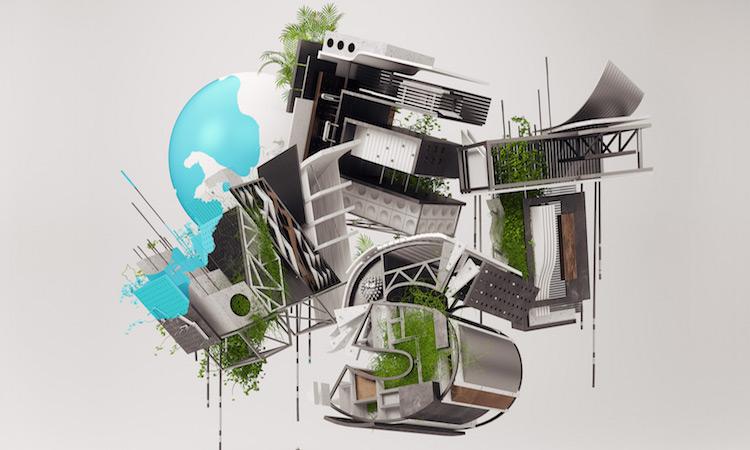 建築師一定看得懂!建築模型元素打造超立體設計字型 - La Vie行動家 設計改變世界