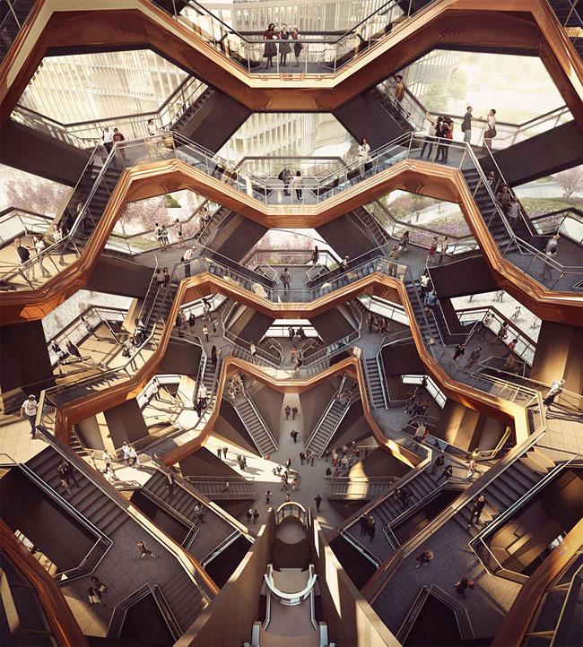 上海世博英國館蒲公英種子設計師之作!154個霍格華茲式樓梯建構出曼哈頓新地標! - La Vie行動家 設計改變世界