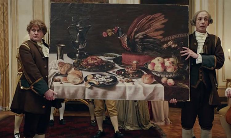 食物上桌到底誰先吃?IKEA廣告模擬17世紀的「相機先食」