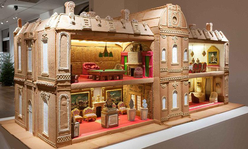【影片】根本就是芭比住的豪宅啊!夢幻系18世紀古典法式巨型薑餅屋 - La Vie行動家 設計改變世界