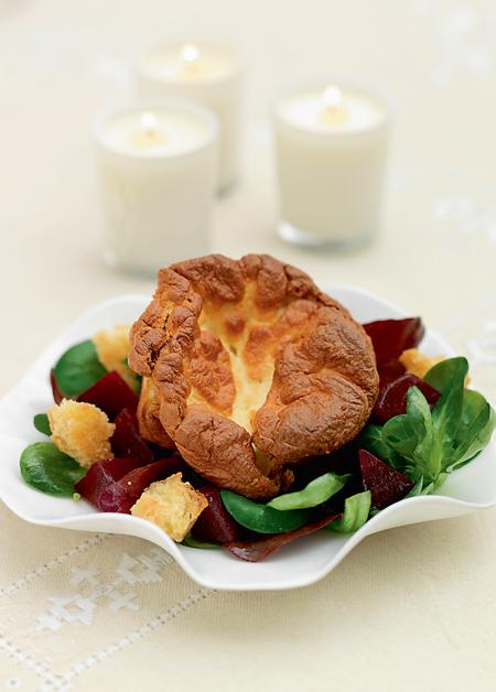 來自英國皇室主廚的挑戰:精巧細膩的雙重焗乳酪舒芙蕾