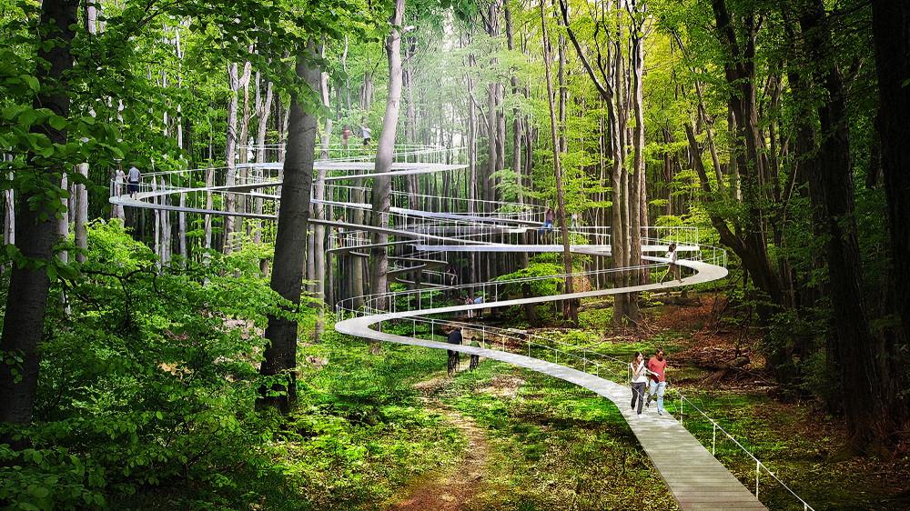不砍樹也能變遊樂場!伊斯坦堡公園讓你在林梢間自在玩耍 - La Vie行動家 設計改變世界