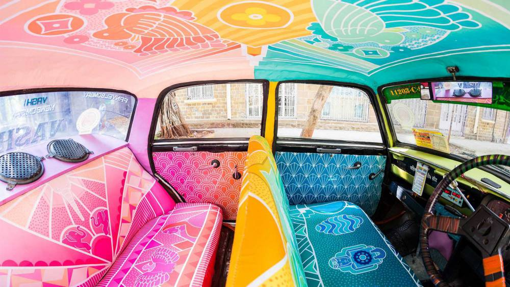 【影片】一上車就是華麗驚喜!印度小黃化身行動美術館穿梭巷弄街頭 - La Vie行動家 設計改變世界