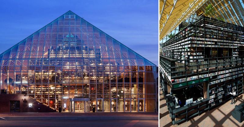 荷蘭「書架山」圖書館 體驗不只閱讀的美好 - La Vie行動家 設計改變世界