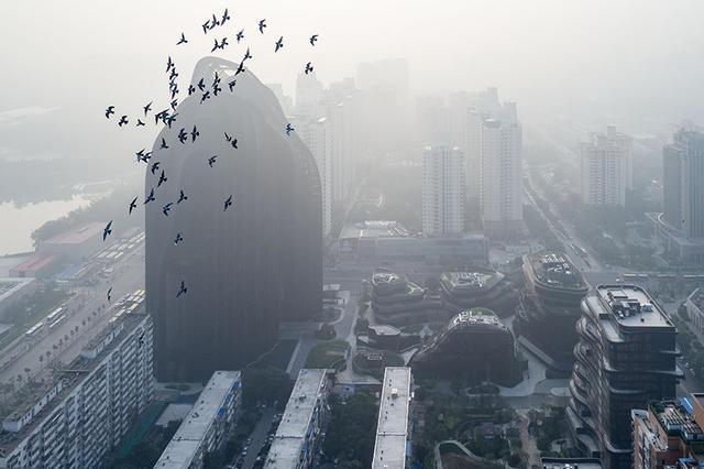 濃烈渾厚的墨跡為靈感,MAD事務所打造中國山水畫風格建築 - La Vie行動家 設計改變世界