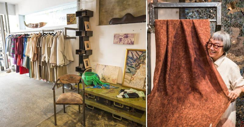 法國人鍾愛的台灣服裝設計師——洪麗芬的美好工藝生活提案
