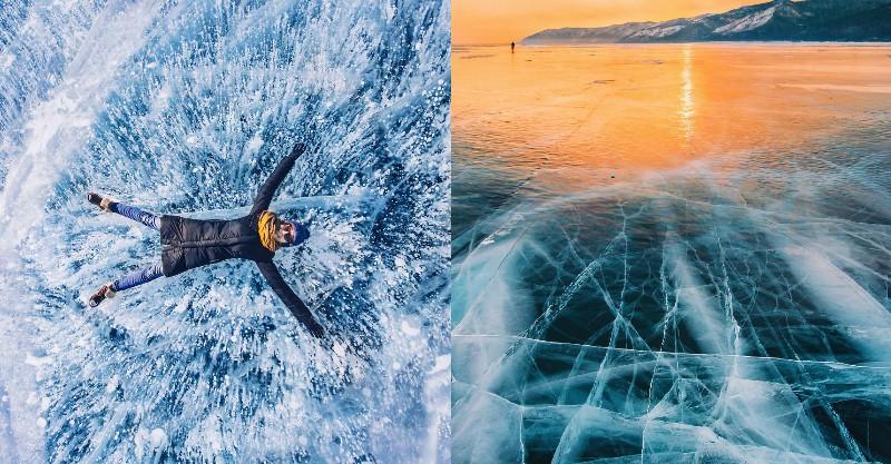 再冰也要親眼見識!世界最古老、最深湖泊保存結冰最美瞬間! - La Vie行動家 設計改變世界