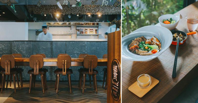 北歐風牛肉麵空間+12000支木匙藝術裝置!台北東區「饗拌麵」獨創風味牛油球配牛肉麵新吃法 - LaVie 設計改變世界