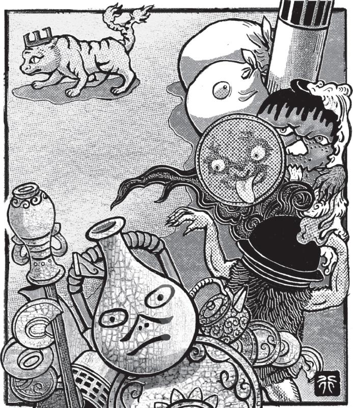把惡夢吃光光、夜半開party!4隻俏皮小妖怪帶你幽遊不可思議的日本妖怪世界!