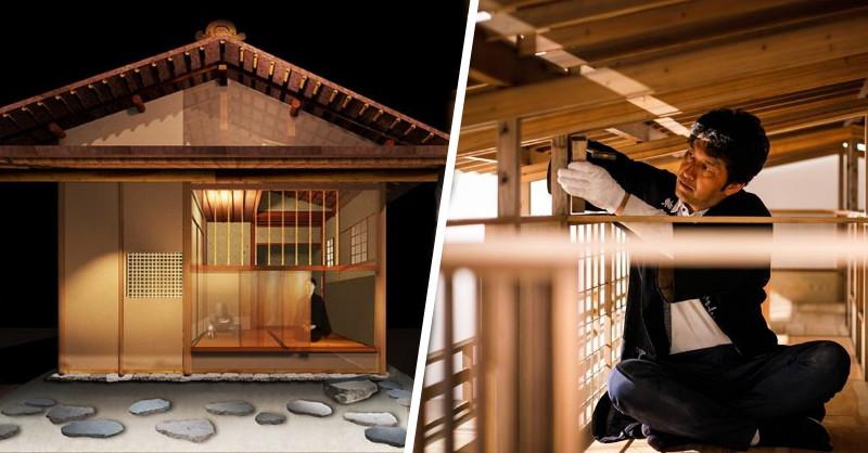 日本國寶千利休茶室「待庵」原尺寸再現!東京森美術館《建築的日本展》剖析日本建築基因