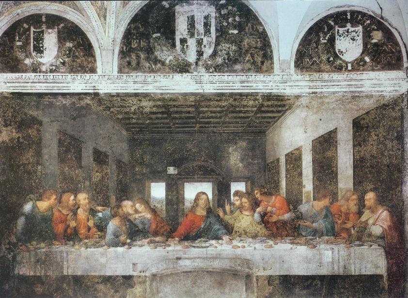 達文西最愛的是料理而非繪畫?耗費三年畫《最後的晩餐》重點其實是餐桌上的美食!