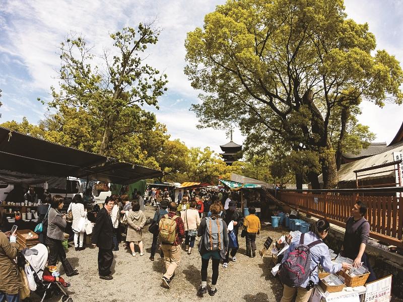到世界遺產裡的二手市集挖寶吧!5個雜貨迷不可錯過的日本特色市集巡禮!