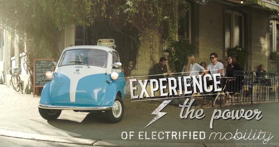 時尚復刻1950年代經典泡泡車!瑞士推極簡迷你電動車「Microlino」前開車門+復古樣式吸睛