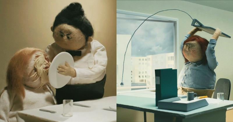 真的「受夠了」!瑞典動畫師用羊毛氈玩偶詼諧呈現瀕臨崩潰的厭世日常