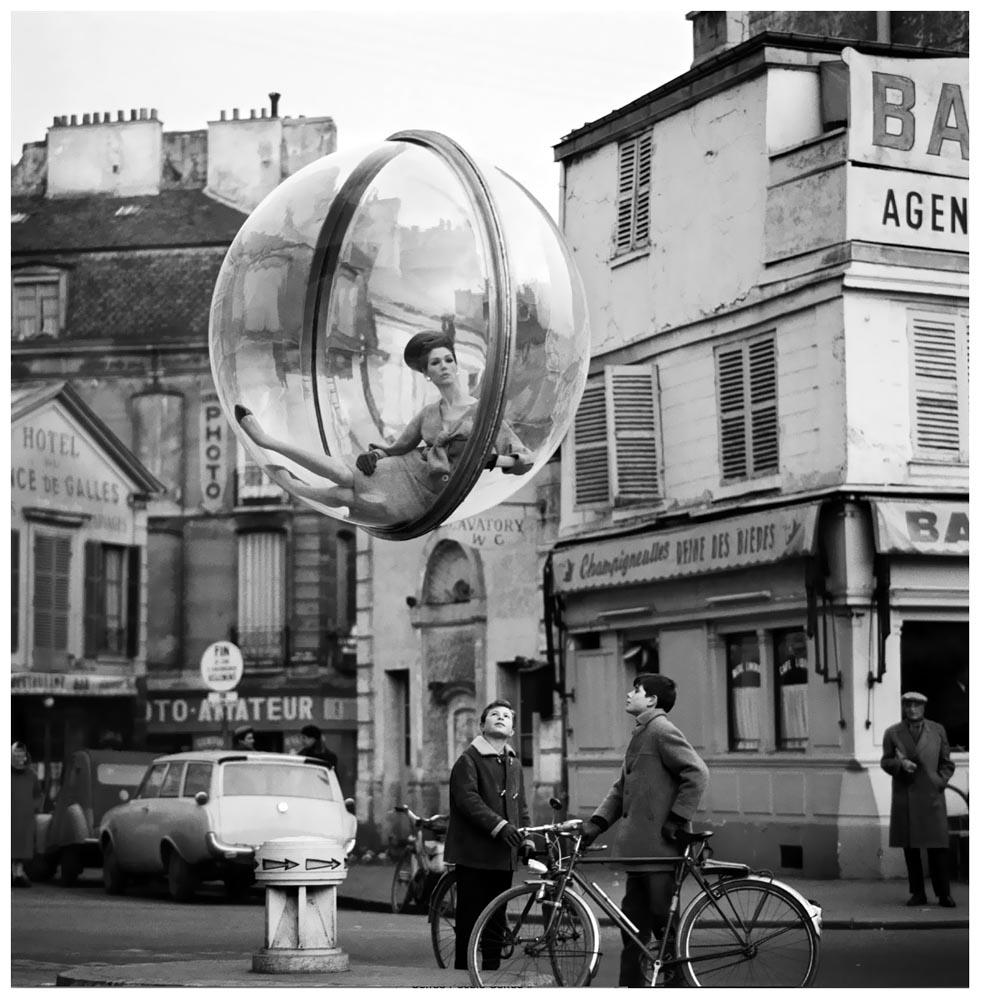 時尚界最有名的泡泡!美國傳奇攝影師Melvin Sokolsky於60年代拍出雋永的前衛!|La Vie TOP 10 - 時尚視角